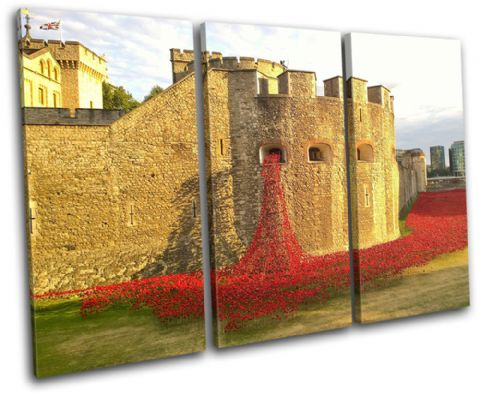 Tower of London Poppies City - 13-2232(00B)-TR32-LO